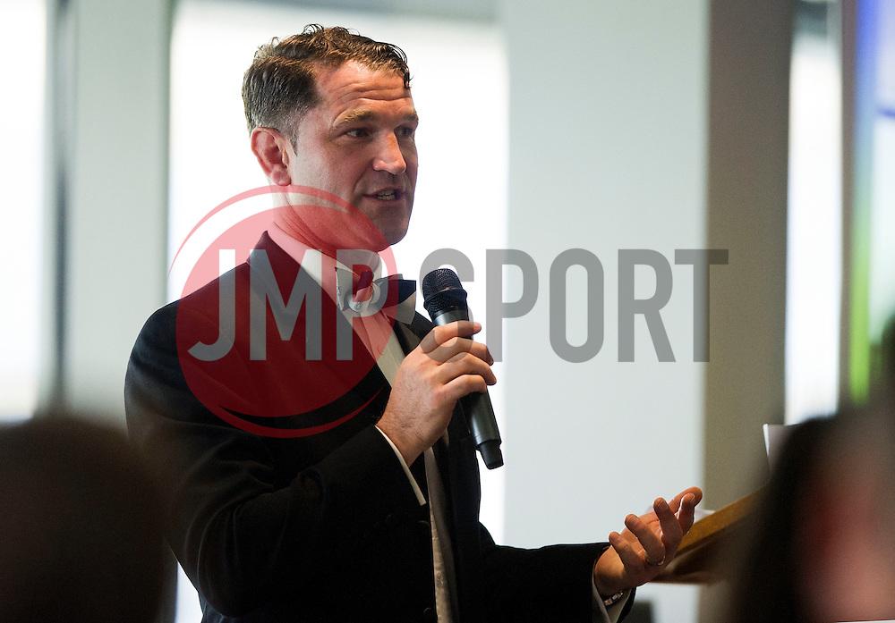 Ben Breeze presents the Bristol Rugby Community Foundation Dinner