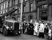 Transport Blessed on the Feast of St Christopher  at Franciscan Friary, Merchant's Quay.25/07/1954
