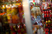 Belo Horizonte_MG, Brasil...80 anos do Mercado Central. Na foto comercio de pimentas...80 years of Mercado Central. In this photo some peppers...Foto: LEO DRUMOND / NITRO
