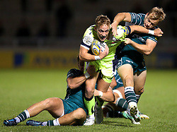 Will Addison of Sale Sharks attacks - Mandatory by-line: Matt McNulty/JMP - 15/09/2017 - RUGBY - AJ Bell Stadium - Sale, England - Sale Sharks v London Irish - Aviva Premiership