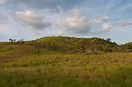 The rolling hills of the Rupununi Savannah, Guyana