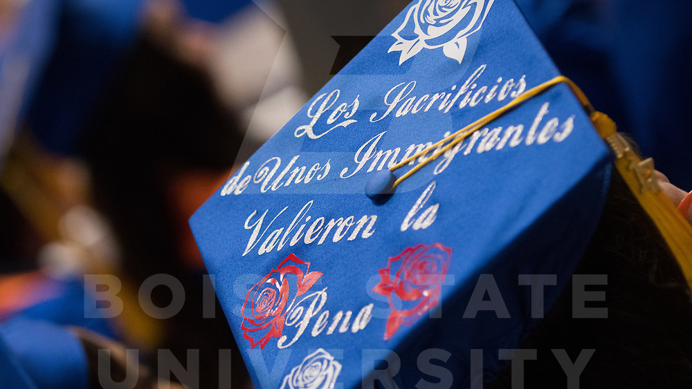 Winter Commencement, photo by Priscilla Grover