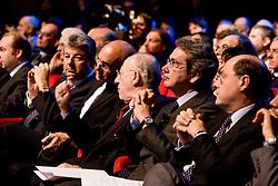 """Roma 21/01/2009 - IV Conferenza nazionale sul Digitale Terrestre dal titolo """"Niente è come prima"""". NELLA FOTO: La prima fila."""