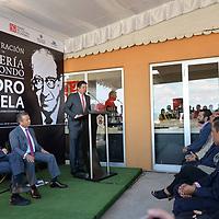 Metepec, México (Noviembre 08, 2018).- David López Gutiérrez, presidente municipal de Metepec durante la apertura de  la tercera librería del Fondo de Cultura Económica en el Estado de México fue formalmente inaugurada en Metepec, ubicada a un costado del Teatro Quimera.  Agencia MVT / Crisanta Espinosa.