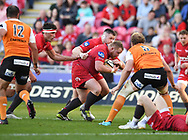 Scarlets Samson Lee<br /> <br /> Photographer Mike Jones/Replay Images<br /> <br /> Guinness PRO14 Round 22 - Scarlets v Cheetahs - Saturday 5th May 2018 - Parc Y Scarlets - Llanelli<br /> <br /> World Copyright © Replay Images . All rights reserved. info@replayimages.co.uk - http://replayimages.co.uk