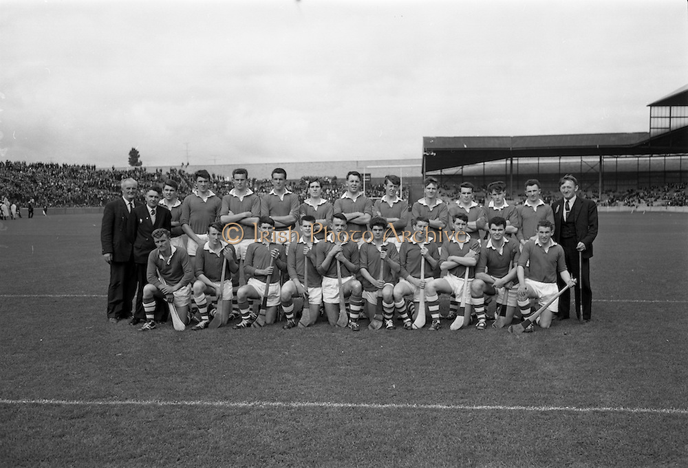 06/09/1964<br /> 09/06/1964<br /> 6 September 1964<br /> All-Ireland Minor Final: Cork v Laois at Croke Park, Dublin.
