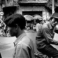 street scene , Hanoi , Vietnam