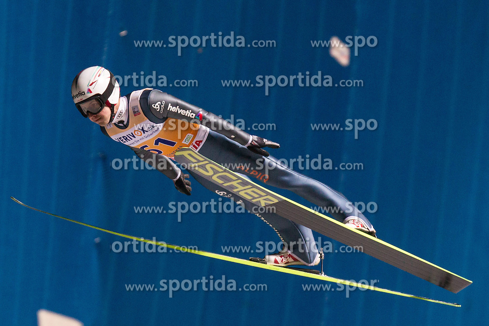 21.11.2014, Vogtland Arena, Klingenthal, GER, FIS Weltcup Ski Sprung, Klingenthal, Herren, HS 140, Qualifikation, im Bild SIMON AMMAN // during the mens HS 140 qualification of FIS Ski jumping World Cup at the Vogtland Arena in Klingenthal, Germany on 2014/11/21. EXPA Pictures &copy; 2014, PhotoCredit: EXPA/ Newspix/ Katarzyna Plewczynska<br /> <br /> *****ATTENTION - for AUT, SLO, CRO, SRB, BIH, MAZ, TUR, SUI, SWE only*****