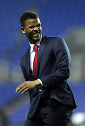 Fraizer Campbell of Crystal Palace laughs - Mandatory byline: Robbie Stephenson/JMP - 11/03/2016 - FOOTBALL - Madejski Stadium - Reading, England - Reading v Crystal Palace - Emirates FA Cup Quarter Final