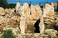 Espa&ntilde;a. Islas Baleares. Formentera. Yacimiento arqueol&oacute;gico de Ca na Costa.<br /> <br /> &copy; JOAN COSTA