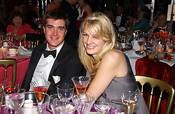 LORD JAMES RUSSELL and CAMILLA VON STAUFFENBERG at the party Belle Epoque hosted by The Royal Parks Foundation and Champagne Perrier Jouet held at the Lido Lawns of the Serpentine, Hyde Park, London on 14th September 2006.<br /><br />NON EXCLUSIVE - WORLD RIGHTS
