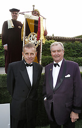 File photo - Honorees Prince Henrik of Denmark and TV anchor Patrick Poivre d'Arvor pose together during the Chateau Smith Haut Laffite Flower Party held at Martillac, near Bordeaux, France on June 21, 2007. Prince Henrik, the French-born husband of Denmark's Queen Margrethe II, has died, the palace announced Wednesday. He was 83. Photo by ABACAPRESS.COM
