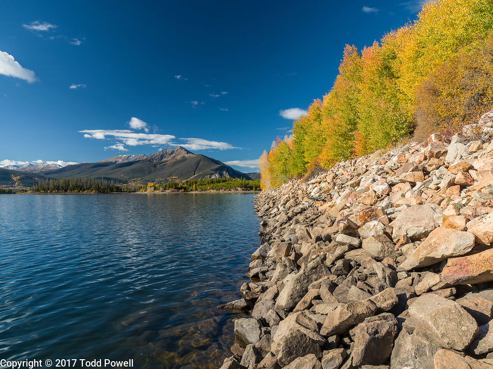 Lake Dillon and Ten Mile Mountain Range, Fall, Summit County, Colorado