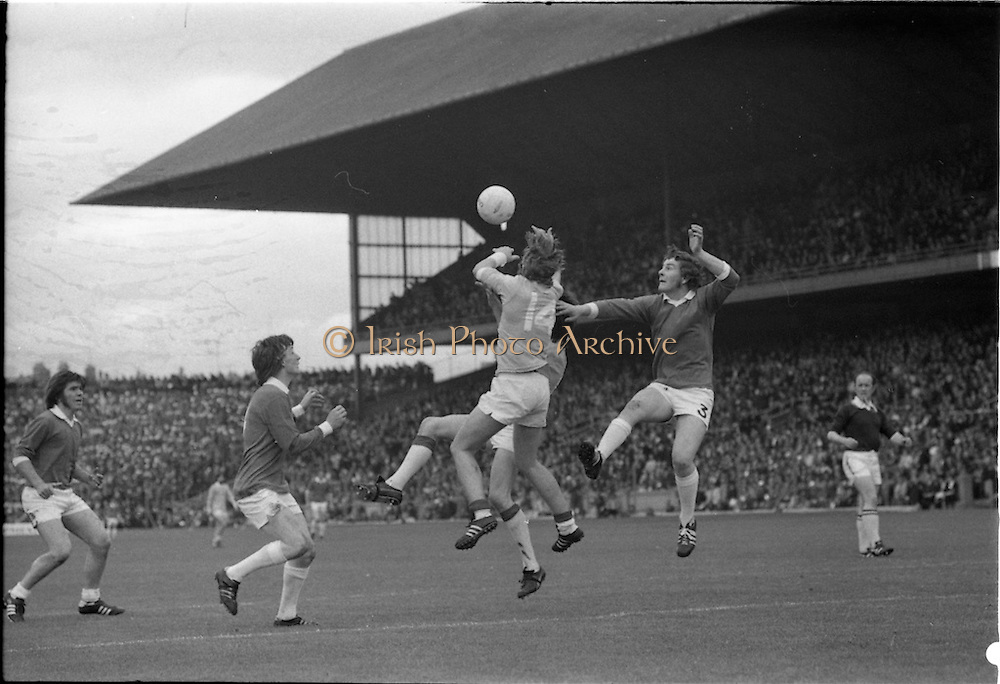 23/9/1973.All Ireland Minor Football Final in Croke Park, Tyrone v Kildare..Commissioned by Kerryman (John Barrett).