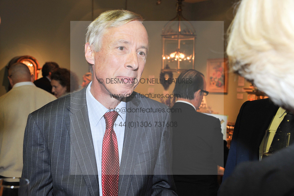 The 7th EARL HOWE President of LAPADA at a preview evening of the annual London LAPADA (The Association of Art & Antiques Dealers) antiques Fair held in Berkeley Square, London on 18th September 2012.
