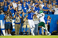 during the first half at Kroger Field in Lexington, Ky., Saturday, Sept. 7, 2019.