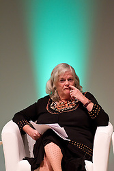 © Licensed to London News Pictures. 08/10/2012. Birmingham , UK . Conservative MP for Maidstone and The Weald , Ann Widdecombe , speaks against gay marriage . Birmingham Town Hall meeting of The Coalition for Marriage , who are opposed to giving marriage rights to gay people . Photo credit : Joel Goodman/LNP