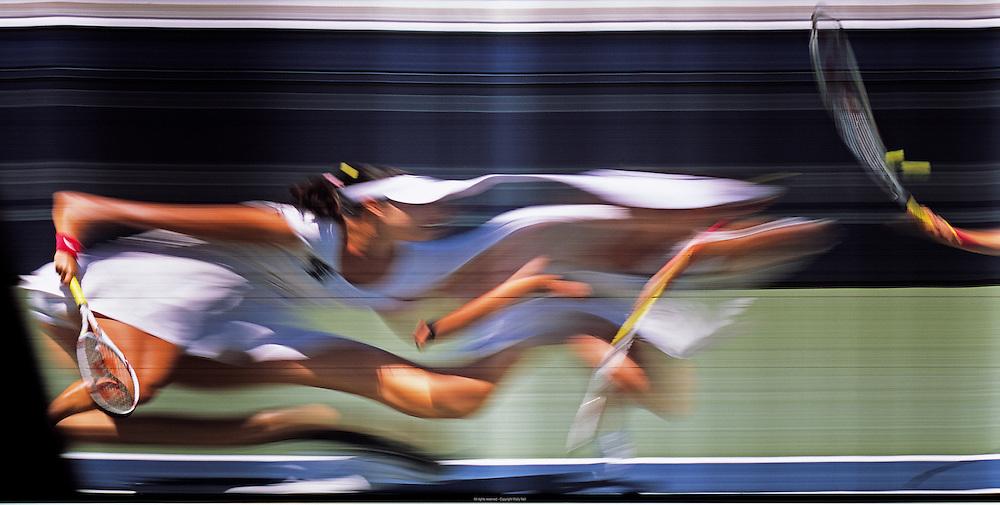 San Diego, CA - Mercury Insurance Open WTA tennis at La Costa Spa and Resort, August 4th, 2010 - Yaroslava Shvedova returns a ball against opponent Shahar Peer at a WTA tennis tournament held at the La Costa Spa and Resort near San Diego, CA. Peer won the match 7-5 6-4. Photo by Wally Nell/ZUMA Press