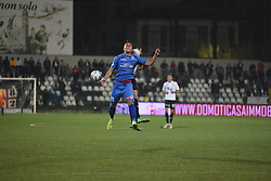 November 3, 2018 - Vercelli, Italy - Italian midfielder Alessandro Mallamo from Novara Calcio team playing during Saturday evening's match against Pro Vercelli team valid for the 10th day of the Italian Lega Pro championship  (Credit Image: © Andrea Diodato/NurPhoto via ZUMA Press)