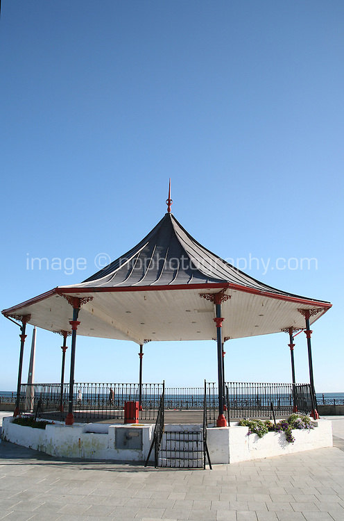 Bandstand at Bray Promenade County Wicklow Ireland