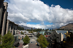 View of downtown, Queenstown, Otago District, South Island, New Zealand
