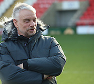 Brian Noble (Director of Rugby) of Toronto Wolfpack during the Betfred Championship match at Leigh Sports Village, Leigh<br /> Picture by Stephen Gaunt/Focus Images Ltd +447904 833202<br /> 04/02/2018