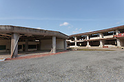 The ruins of Okawa Elementary school in Ishinomaki, Miyagi, Japan. Thursday March 10th 2016. The Great East Japan Earthquake struck at 2:46pm on March 11th 2011 levelling much of the Tohoku coast and causing the deaths of around 18,000 people. including 84 students and staff at Okawa Elementary School.