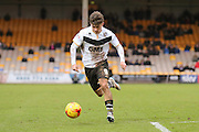 Port Vale midfielder, on loan from Cardiff City, Matthew Kennedy   during the Sky Bet League 1 match between Port Vale and Coventry City at Vale Park, Burslem, England on 7 February 2016. Photo by Simon Davies.