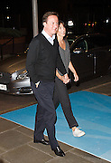 Rt Hon David Cameron MP<br /> <br /> Prime Minister and Leader of the Conservatives arrives at Hyatt Hotel ahead of the conservatives Party Conference , Birmingham, Great Britain <br /> 6th October 2012 <br />  <br /> with Samantha Cameron <br /> <br /> <br /> Photograph by Elliott Franks<br /> <br /> Tel 07802 537 220 <br /> elliott@elliottfranks.com<br /> <br /> ©2012 Elliott Franks<br /> Agency space rates apply