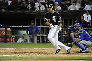 CHICAGO - JUNE 21: Carlos Quentin #20 of the Chicago White Sox bats against the Chicago Cubs on June 21, 2011 at U.S. Cellular Field in Chicago, Illinois.  The White Sox defeated the Cubs 3-2.  (Photo by Ron Vesely)  Subject:  Carlos Quentin