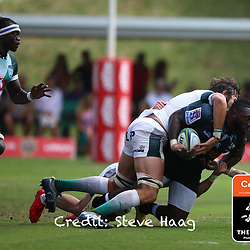 Tendai Beast Mtawarira of the Cell C Sharks during The Cell C Sharks warm up match with the  Vodacom Bulls, at Ashton International College Albertina Way, Dolphin Coast  Ballito - Kwazulu- Natal, South Africa 9th February 2019 (Photo by Steve Haag)