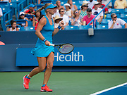 Kiki Bertens of the Netherlands in action during the final of the 2018 Western and Southern Open WTA Premier 5 tennis tournament, Cincinnati, Ohio, USA, on August 19th 2018 - Photo Rob Prange / SpainProSportsImages / DPPI / ProSportsImages / DPPI