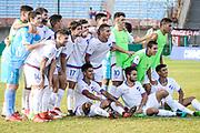 20180218/ Javier Calvelo - adhocFOTOS/ URUGUAY/ MONTEVIDEO/ COPA LIBERTADORES DE AM&Eacute;RICA 2018 CATEGOR&Iacute;A SUB 20 / GRUPO C/ 3 FECHA - NACIONAL (URUGUAY) 0:0 INDEPENDIENTE DEL VALLE (ECUADOR) Cancha: Estadio Centenario.  Juez: Alexis Herrera (Venezuela).<br /> Nacional empat&oacute; 0:0 con Independiente del Valle de Ecuador, en el Estadio Centenario y culmin&oacute; en la primera posici&oacute;n del grupo C de la Copa Libertadores de Am&eacute;rica.<br /> NACIONAL: Franco Israel, Math&iacute;as Laborda, Nicol&aacute;s Rodr&iacute;guez, Leandro Lozano, Santiago Merlo, Juan Manuel Sanabria, Joaqu&iacute;n Trasante, Thiago vecino, Guillermo May, Brian Ocampo, Emiliano Sosa . Director t&eacute;cnico: Rudy Rodr&iacute;guez.<br /> INDEPENDIENTE DEL VALLE: Wellington Ram&iacute;rez, Samuel Perlaza, Emerson Espinoza, Juan Enrique Nazareno, Silven Plaza, Yeison Guerrero, Jordan Rezabala, Renny Jaramillo, Angelo Preciado, Gonzalo Plata, Luis Loor. Director t&eacute;cnico: Juan Carlos Le&oacute;n.<br /> En la foto: Planel de Nacional, por la Copa Libertadores Sub 20, en el Estadio Centenario. Foto: Javier Calvelo/ adhocFOTOS