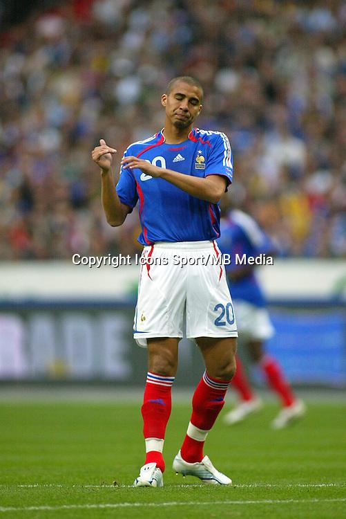 David TREZEGUET - 27.05.2005 - France / Mexique - Stade de France - Match amical<br />Photo : Top Image / Icon Sport