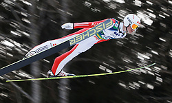12.01.2014, Kulm, Bad Mitterndorf, AUT, FIS Ski Flug Weltcup, Erster Durchgang, im Bild Marinus Kraus (GER) // Marinus Kraus (GER) during the first round of FIS Ski Flying World Cup at the Kulm, Bad Mitterndorf, .Austria on 2014/01/12, EXPA Pictures © 2013, PhotoCredit: EXPA/ Erwin Scheriau
