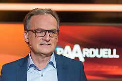 """16.02.2016, Huerth, GER, Settermin, Paarduell, im Bild Frank Plasberg // during a photocall for the German TV-Show """"Paarduell"""" in Huerth, Germany on 2016/02/16. EXPA Pictures © 2016, PhotoCredit: EXPA/ Eibner-Pressefoto/ Schueler<br /> <br /> *****ATTENTION - OUT of GER*****"""