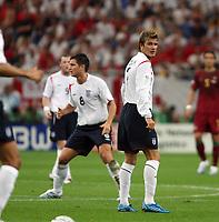 Photo: Chris Ratcliffe.<br /> England v Portugal. Quarter Finals, FIFA World Cup 2006. 01/07/2006.<br /> David Beckham of England.