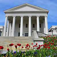 Virginia State Capitol Building in Richmond, Virginia<br />