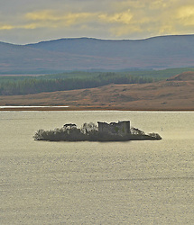 Castle Kirk Island (Hen Island) ... Granuaile's Castle on Lough Corrib.<br />