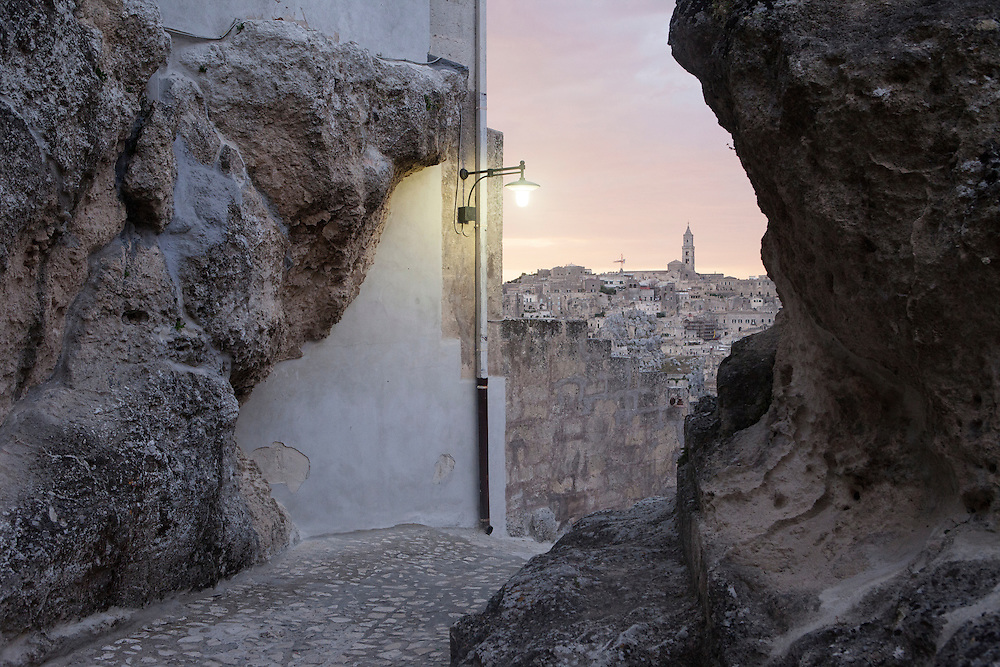 Matera, Italy, August 2014.