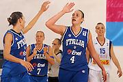 DESCRIZIONE : Ortona Italy Italia Eurobasket Women 2007 Serbia Italia Serbia Italy<br /> GIOCATORE : Ress<br /> SQUADRA : Nazionale Italia<br /> EVENTO : Eurobasket Women 2007 Campionati Europei Donne 2007 <br /> GARA : Serbia Italia Serbia Italy<br /> DATA : 01/10/2007 <br /> CATEGORIA : esultanza<br /> SPORT : Pallacanestro <br /> AUTORE : Agenzia Ciamillo-Castoria/E.Castoria<br /> Galleria : Eurobasket Women 2007 <br /> Fotonotizia : Ortona Italy Italia Eurobasket Women 2007 Serbia Italia Serbia Italy<br /> Predefinita :