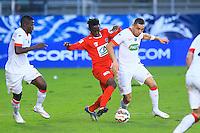 Layvin KURZAWA - 04.01.2014 - Nimes / Monaco - Coupe de France<br />Photo : Nicolas Guyonnet / Icon Sport