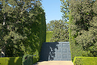 Residential entrance, Beverly Hills.
