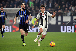 December 7, 2018 - Turin, Turin, Italy - Paulo Dybala #10 of Juventus FC in action during the serie A match between Juventus FC and FC Internazionale Milano at Allianz Stadium on December 07, 2018 in Turin, Italy. (Credit Image: © Giuseppe Cottini/NurPhoto via ZUMA Press)