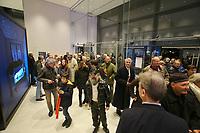 Mannheim. 15.12.17  <br /> Kunsthalle. Neubau. Nachtaufnahmen von Aussen mit der Mesh-Fassade. Er&ouml;ffnung<br /> <br /> Bild-ID 044   Markus Pro&szlig;witz 15DEC17 / masterpress