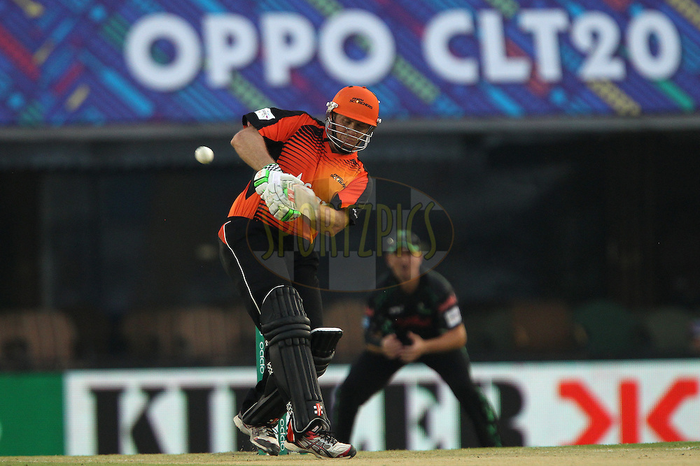 Craig SIMMONS of the Perth Scorchers  during match 4 of the Oppo Champions League Twenty20 between the Dolphins and the Perth Scorchers held at the Punjab Cricket Association Stadium, Mohali, India on the 20th September 2014<br /> <br /> Photo by:  Ron Gaunt / Sportzpics/ CLT20<br /> <br /> <br /> Image use is subject to the terms and conditions as laid out by the BCCI/ CLT20.  The terms and conditions can be downloaded here:<br /> <br /> http://sportzpics.photoshelter.com/gallery/CLT20-Image-Terms-and-Conditions-2014/G0000IfNJn535VPU/C0000QhhKadWcjYs