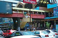 Pictured: Via Espan?a shooping area Street scene. Downtown Panama City.