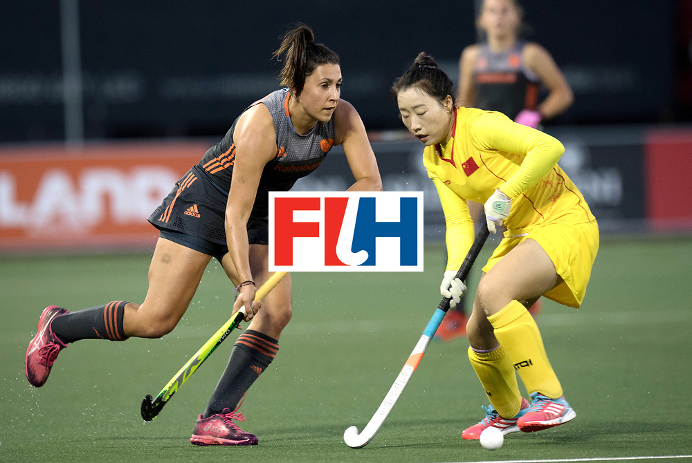 AUCKLAND - Sentinel Hockey World League final women<br /> Match id: 10305<br /> 16 NED v CHina (QF)<br /> Foto: Malou Pheninckx <br /> WORLDSPORTPICS COPYRIGHT FRANK UIJLENBROEK
