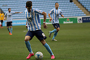 Coventry City Midfielder Ruben Lameiras during the Sky Bet League 1 match between Coventry City and Rochdale at the Ricoh Arena, Coventry, England on 5 March 2016. Photo by Chris Wynne.