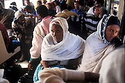 Passssengers on the train from Djibouti to Addis Ababa